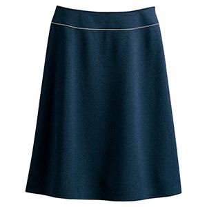 Aラインスカート 16461 ネイビー (5〜19号)