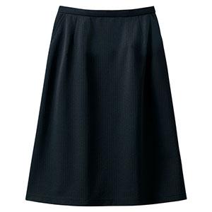 Aラインスカート 16500 ブラック (5〜19号)