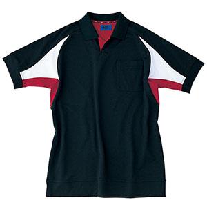 ユニセックス ポロシャツ 65050 ブラック