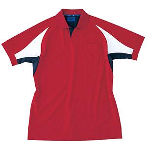 ユニセックス ポロシャツ 65053 レッド