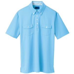 ユニセックス ポロシャツ 65241 スカイブルー