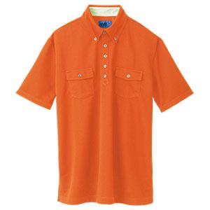 ユニセックス ポロシャツ 65244 オレンジ