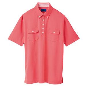 ユニセックス ポロシャツ 65256 ポピーレッド