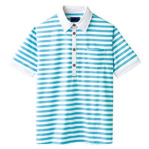 ユニセックス ポロシャツ 65322 サックス