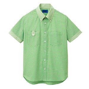 ユニセックス 半袖シャツ 63405 グリーン