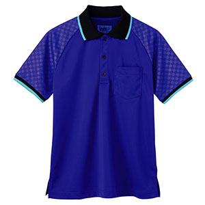 ユニセックス ポロシャツ 65351 ブルー