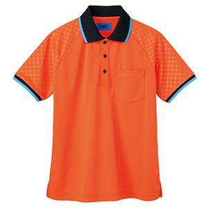 ユニセックス ポロシャツ 65354 オレンジ