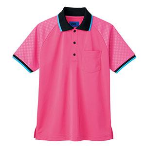 ユニセックス ポロシャツ 65356 ピンク