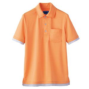ユニセックス ポロシャツ 65427 オレンジ 4L