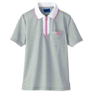 半袖ポロシャツ 65549 グレー