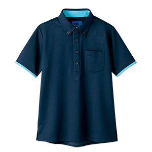 半袖ポロシャツ 65571 ネイビー
