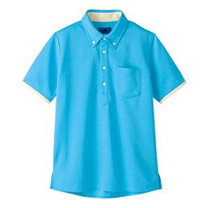 半袖ポロシャツ 65572 サックス