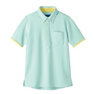 半袖ポロシャツ 65575 グリーン