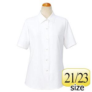 cressai 半袖ブラウス 36498 ホワイト 21・23号
