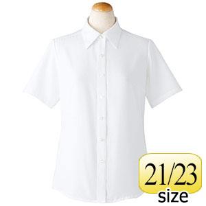 半袖ブラウス 36688 ホワイト 21・23号