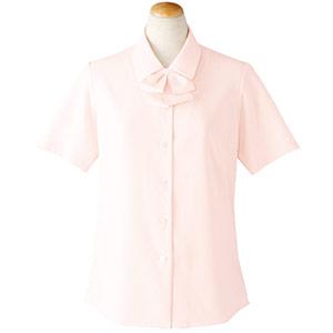 半袖ブラウス リボン付 36693 ピンク (5〜19号)