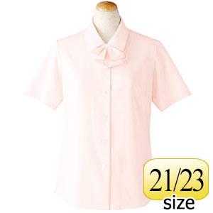 半袖ブラウス リボン付 36693 ピンク 21・23号