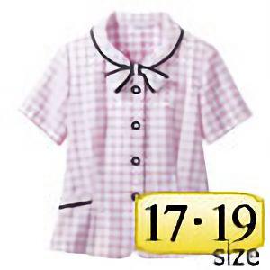 オーバーブラウス 50366 ピンク (17・19号)