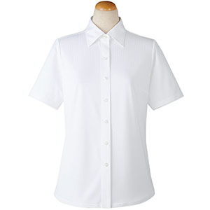 半袖ブラウス 36808 ホワイト (5〜19号)