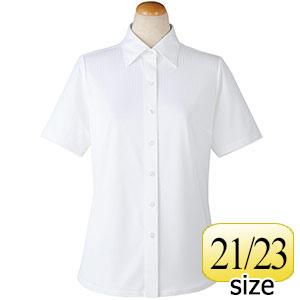 半袖ブラウス 36808 ホワイト 21・23号