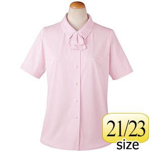 半袖ブラウス リボン付 36813 ピンク 21・23号