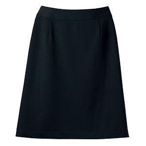 Aラインスカート 15980 ブラック (5〜19号)
