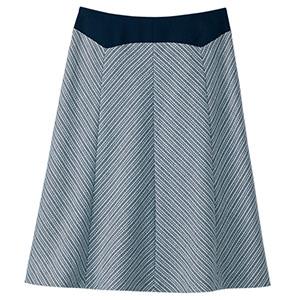 Aラインスカート 16311 ネイビー (5〜19号)