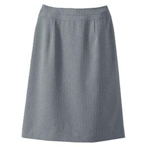 Aラインスカート 16429 グレー (5〜19号)