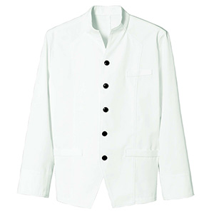 長袖モンキーコート メンズ 2046 01 ホワイト