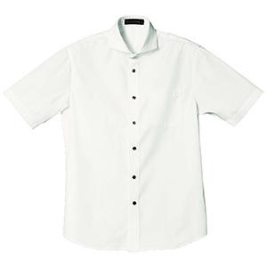 半袖ワイドカラーシャツ 1609 01 ホワイト