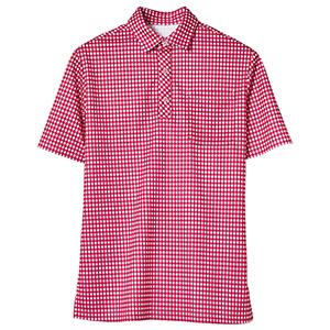 半袖ポロシャツ 1645 XP ワイン