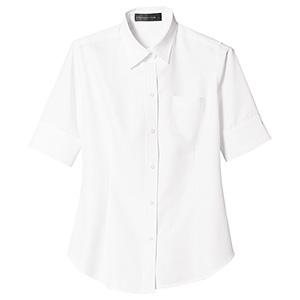 半袖シャツ レディス 1575 01 ホワイト