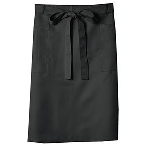膝丈サロン 5198 00 ブラック