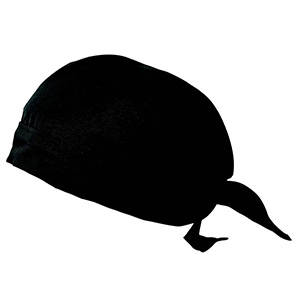 バンダナ帽 6083 00 ブラック