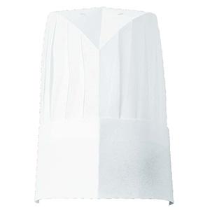 不織布コック帽丸形 6097 01 ホワイト