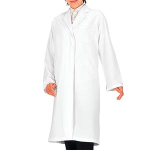 SKA120 女診察衣 シングル ホワイト