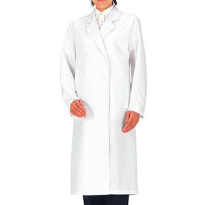 SKA125 女子診察衣 ダブル ホワイト