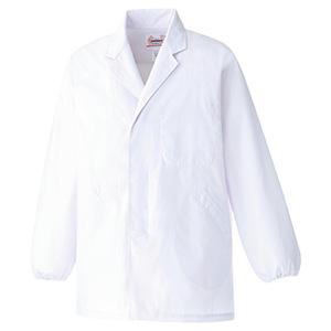 男子衿付 長袖 白衣 EB200