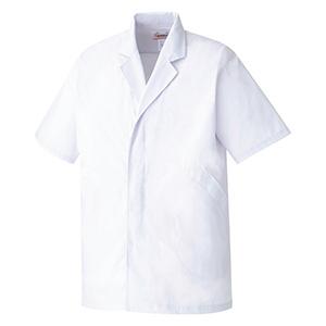 男子衿付 半袖 白衣 EB201