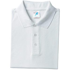 吸汗速乾シャツ 清涼感半袖ポロシャツ T06SP−12 ホワイト