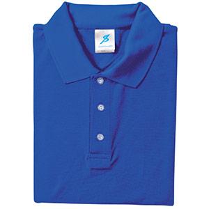 吸汗速乾シャツ 清涼感半袖ポロシャツ T06SP−21 ロイヤルブルー