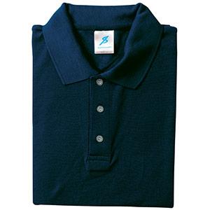 吸汗速乾シャツ 清涼感半袖ポロシャツ T06SP−33 ネイビー