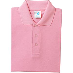 吸汗速乾シャツ 清涼感半袖ポロシャツ T06SP−18 ライトピンク