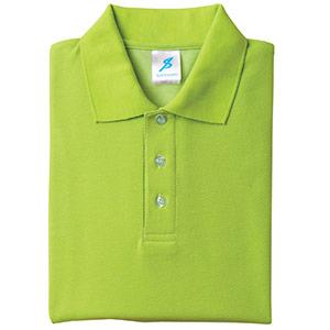 吸汗速乾シャツ 清涼感半袖ポロシャツ T06SP−20 ライトグリーン