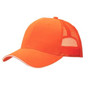 ツイルメッシュキャップ 6627 オレンジ