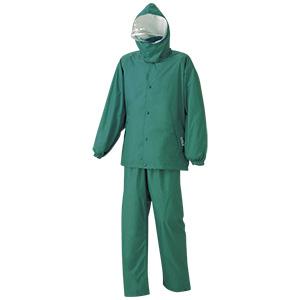 雨衣 エントラント ハイテクスーツ A−680 グリーン