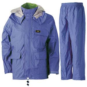 雨衣 透湿 MOA シータレインスーツ A−660 ブルー