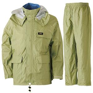 雨衣 透湿 MOA シータレインスーツ A−660 オリーブ