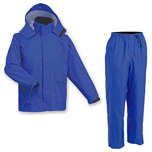 雨衣 透湿レインスーツ AP−600 ロイヤルブルー