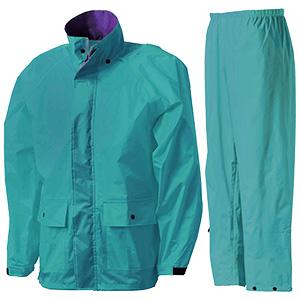 雨衣 フィールドスーツ A−419A ターコイズ